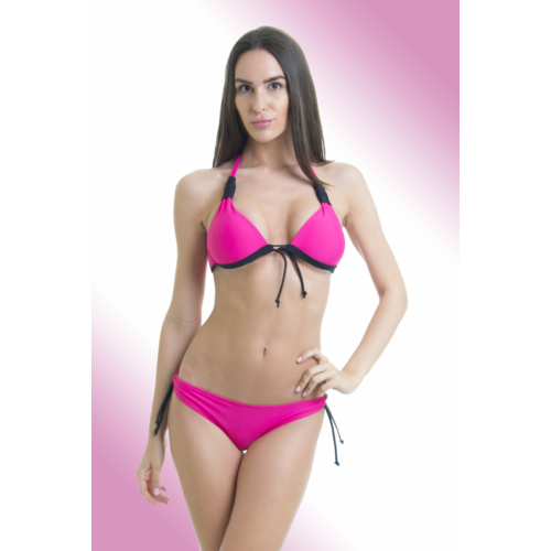 Pink oldalpántos kétrészes fürdőruha - Claudia bikini 36e4cf1a0a