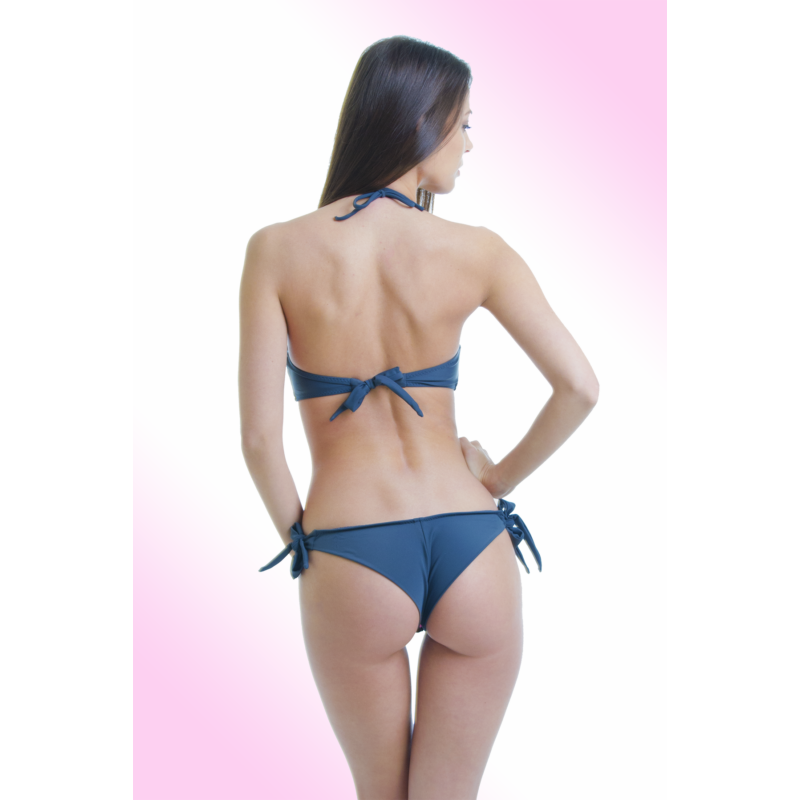Mintás push up bandeau bikini 5c676c25ba